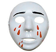 Halloween Masquerade Supplies with Tears of Blood Tricky Mask
