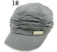 Men Cotton Blend/Sheepskin/Wool Newsboy Cap , Casual Winter