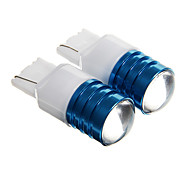 T20 5W R3 450LM 6000K White Light LED for Car Reversing Light(DC 12 2pcs)