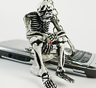 Interesting Squat Toilet Skeleton Keychain