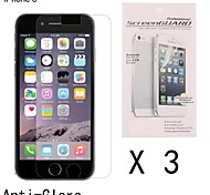Anti-Fingerprint Highest Quality Premium High Definition Screen Protector for iPhone 6 (3 pcs)
