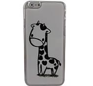 Beautiful Giraffe Plastic Hard Back Cover for iPhone 6