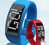 Men's Watch Pedometer LED Touch Screen USB Digital Smart Watch