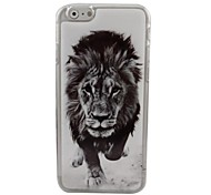 The Powerful Lion Plastic Hard Back Cover for iPhone 6