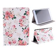 caja de la flor roja de Mini iPad 3, iPad Mini 2, mini ipad