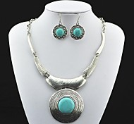 Jewelry Necklaces / Earrings Party / Daily Alloy Women Green Wedding Gifts
