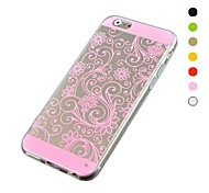 Lucky Clover Pattern TPU Soft Cover for iPhone 6/6S(Assorted Colors)