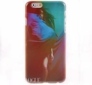 Colorful Sexy Model Design Hard Case for iPhone 6