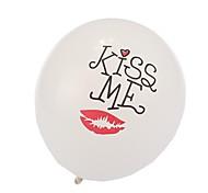 bianco bacio mi palloncini San Valentino di nozze (24 pc / insieme)