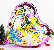 Heart Shape Happy Birthday Aluminium Membrane Baby Shower Birthday Party Balloon