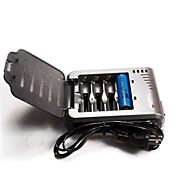 Trustfire TR-003 US/EU/UK Battery Charger for 16340 10430 10440 14500 17670 18500 18650 Rechargeable Batteries