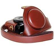 Dengpin® Leather Camera Case Bag Cover Litchi Pattern with Shoulder Strap for Sony DCS-RX100 II M2 M3 RX100 III RX100