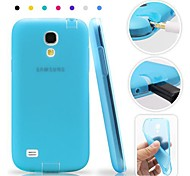 TPU Soft Case with Dust Plug for Samsung Galaxy S4 I9500(Assorted Colors)