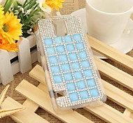 Diamond Wire Jelly Color Block Back Case for SAMSUNG GALAXY S5 I9600(Assorted Colors)