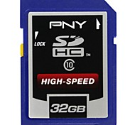 PNY 32GB Class 10 High-speed Professional SDHC Memory Card (Random Color)
