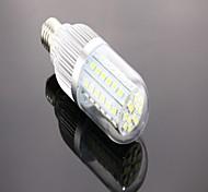 E26/E27 Ampoules Maïs LED T 60 SMD 5050 1200 lm Blanc Froid AC 85-265 V