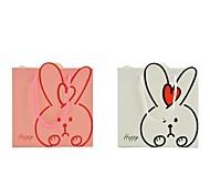 Lureme Lovely  Rabbit PatternGift Bag(Pink,White)(1Pc)