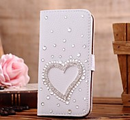 Samsung Galaxy Mini S5 kompatibel Spezielles Design/Diamant Look PU Leder Hüllen (Full Body)/Hüllen mit Ständer