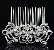 8.2cm Beautiful Hair Comb Tiara Wedding Bridal Jewelry for Party