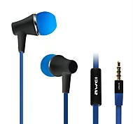 AWEI ES-300i  3.5mm In-Ear Earphones With MIC 3 Accessories for Samsung Phones(Assorted Colors)