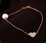 moda brilhante pérola pulseiras gama alta das mulheres (mais cores)