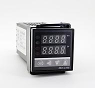 """1.2 """"led 100-240V rex-C100 controllo della temperatura tipo K + termocoppia"""