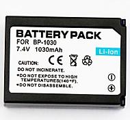 1030mah цифровая камера батареи BP-1030 для действующим Samsung NX200