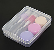 5 Pcs Environmental Anti-bacterium Travel Bottle Set