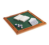 4 in 1 HIPS Travel Environmental Mahjong Pack with Table