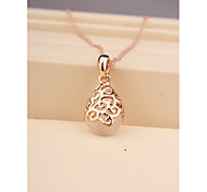 Fashion Hollow Opal Necklace for Women in Jewelry Gift