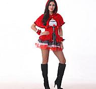 Little Red Riding Hood Deguisement Women's Halloween Costumefor Carnival