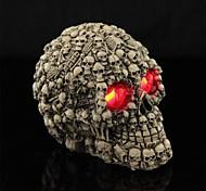 led trucco luminoso resina occhi linee scheletro per Halloween (1 pz)