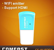 COMFAST® CF-WU825N 2.4GHz 802.11b/g/n 300Mbps USB 2.0 Wireless Wi-Fi Network Adapter