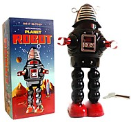 Tin Roby the Robot Wind-Up Toys for Collection