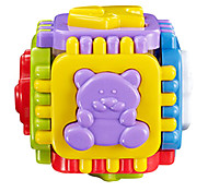 bambino di plastica giocattoli prima educazione incorporato di puzzle degli animali