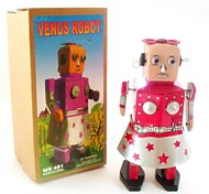 Tin Dancing Venus Robot Wind-Up Toys for Collection