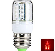 E26/E27 4 W 27 SMD 5050 300 LM Red T Corn Bulbs AC 220-240 V