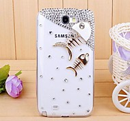 Diamond Fishbone Back Cover Case for SAMSUNG GALAXY Note 2 N7100