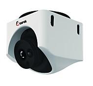 Indoor Plastic Dome 1/3 CMOS 800TVL Array IR LED CCTV Camera