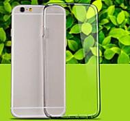 transparente TPU Tasche für iPhone 6 (Farbe sortiert)