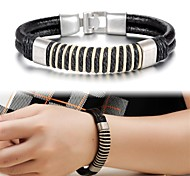 Fashion Leather Men's Bracelet