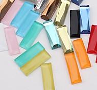 Z&X®  7*21MM 50 PCS Fashion DIY Alloy Decorative Flat Glass Rhinestone (Random Color)