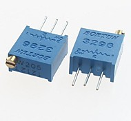 3296 potenziometro 2MOhm resistori regolabili - blu (10 pz)