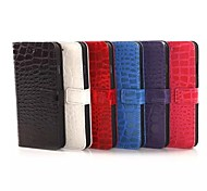 Crocodile Grain Leather Case for iPhone 6