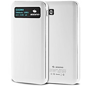 7000mAh Portable Power Bank with Smart OLED Screen Display for Iphone 6/Ipad/Samsung