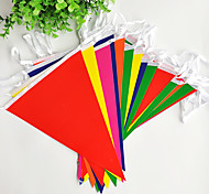 Multicolor Long Flag Banner Party Accessory