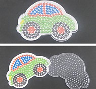 1PCS Template Clear Pegboard Colorful 11cm Car for 5mm Hama Beads Fuse Beads