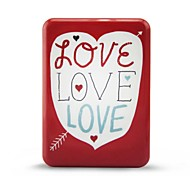 10000mAh I love you Portable Power Bank for iPhone 6/IPhone5S/iPad/lG/note4/and Other Smart Phones
