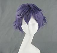Hakkenden Touhou Hakken Ibun Inuzuka Shino Short Purple Cosplay Wig