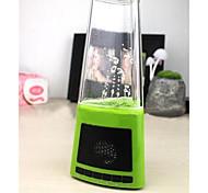 LED-Nachtlicht moderne Multifunktions-Wasserspray weiß Lautsprecher-Box Kunststoff-DC 5V